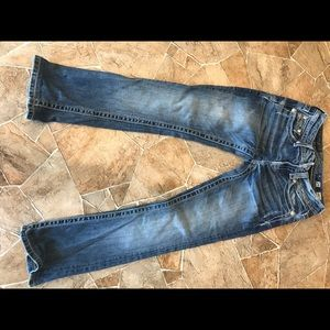 Miss Me bling jeans size 25.